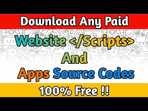 How To Download Any Paid/Premium Website Scripts 100% Free | 2020 | Andriod Apps Source Codes Free.