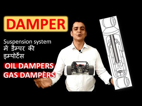 Damper- Meaning and role in suspension:Automobile training in Hindi: Twizards Automobile