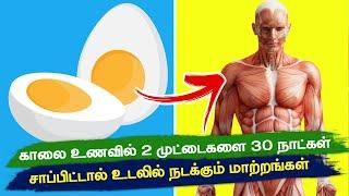 முட்டையின் மருத்துவ பயன்கள் | Baked Eggs | Health benefits of egg | Health Tips in Tamil | egg white