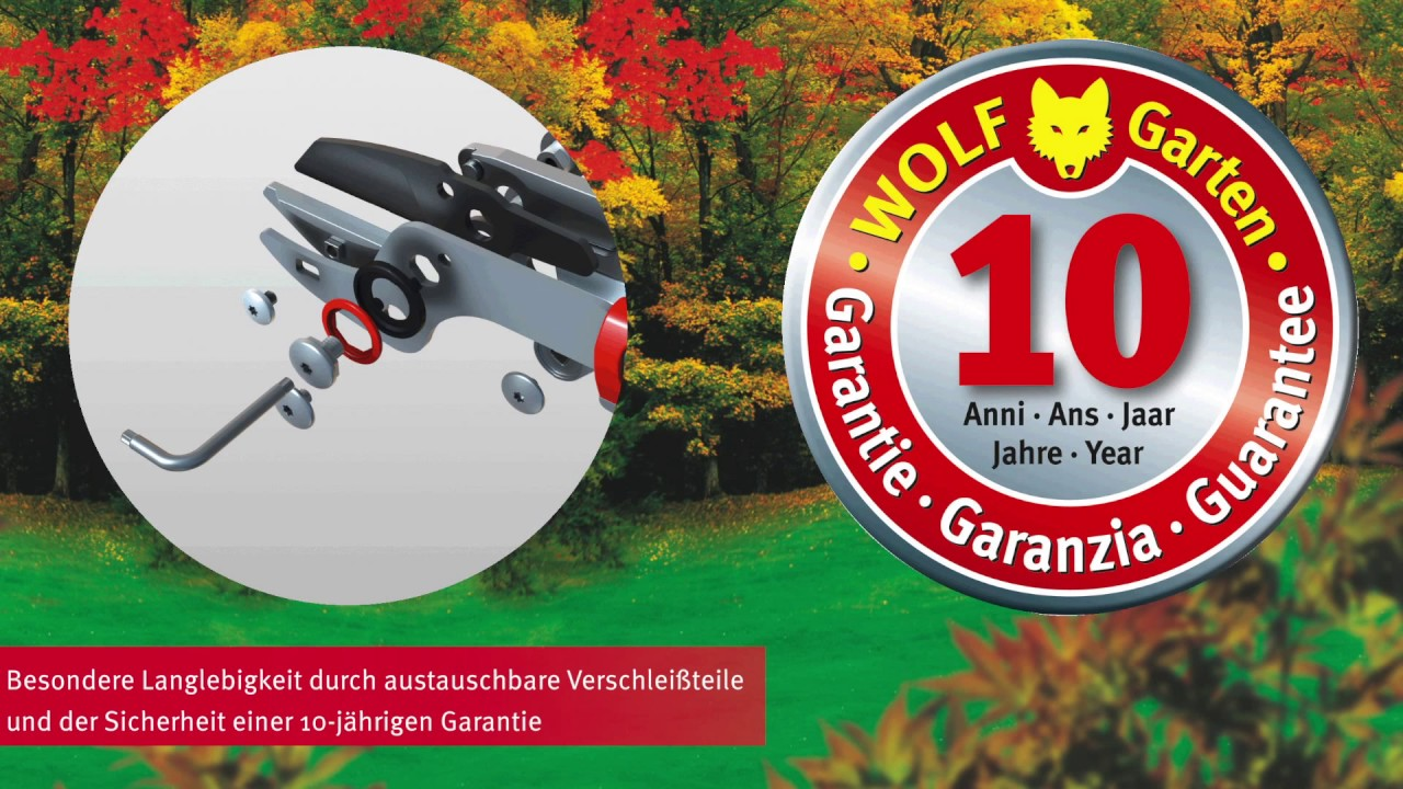 Wolf Garten Power Cut Amboss Astschere Rs900t Leicht Wie Nie