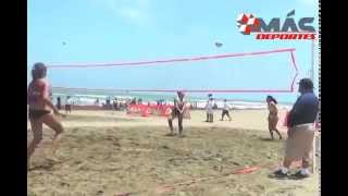Séptima edición torneo voleibol playero en Coatzacoalcos