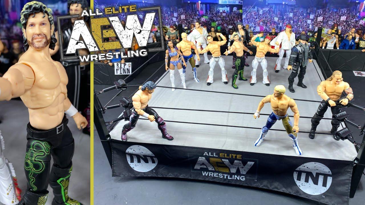 AEW UNRIVALED TOY WRESTLING RING NEW MATTEL ELITE BASIC SERIES Figure ACTION WWE