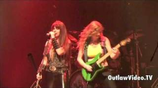 The Iron Maidens - Number Of The Beast LIVE - OutlawVideo.TV