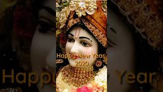Happy New Year 2020 Status Radhe Radhe Krishna Flute WhatsApp Status