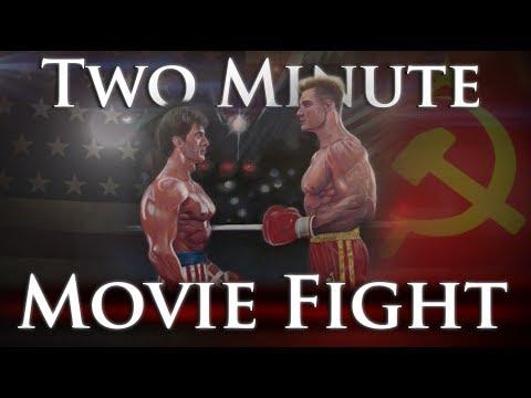 Rocky Balboa vs. Ivan Drago - Two Minute Movie Fights