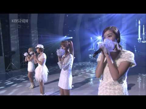 101230 - 4 Minute - Flirt (Pussycat Dolls Cover) Live @ Girls Group Special Gayo Daejun