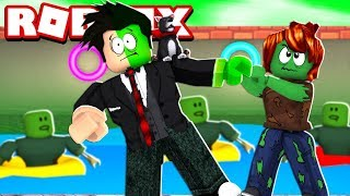 LOKIS ALMOST TURNED INTO A GREEN ZOMBIE | ROBLOX-Escape The Obby Pool Zombie