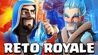 CROSS FIRE con CARTAS de HIELO y FUEGO | #RetoRoyale | Clash Royale