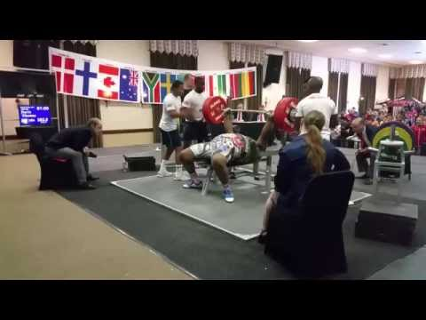 CO sets bench press record