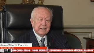 """Jean-Claude Gaudin : """"Didier Raoult est le symbole de l'excellence médicale à Marseille"""""""