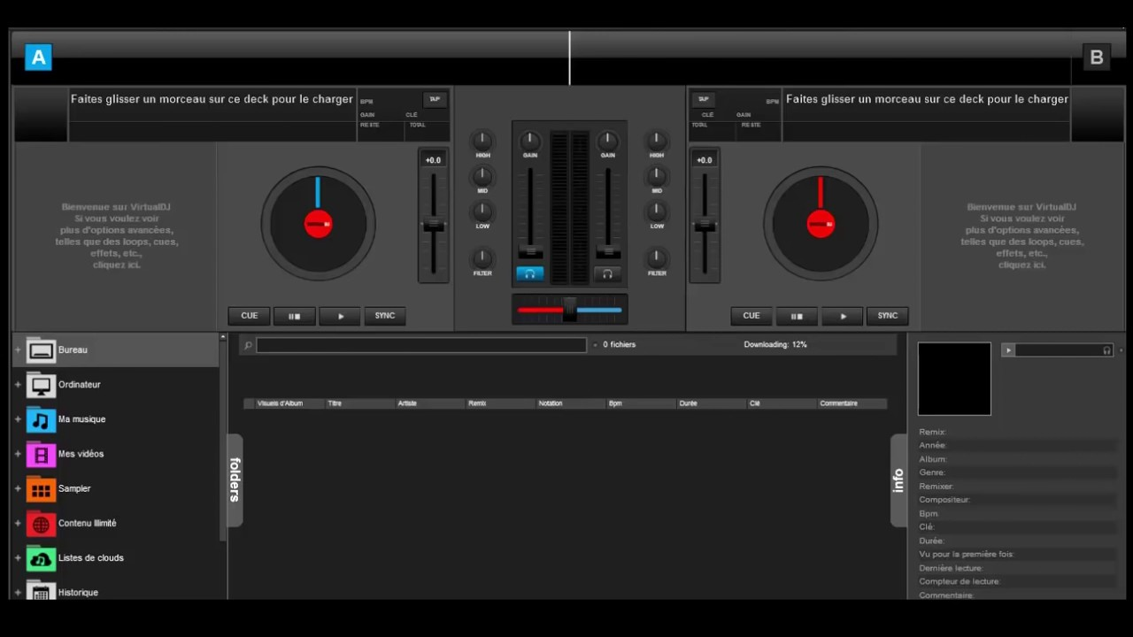 Download toda skin virtual dj