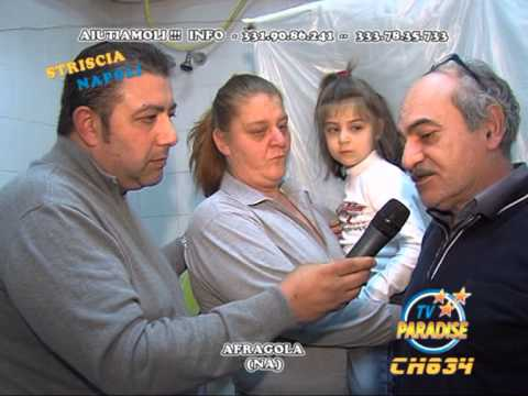 striscia napoli famiglia disagiata con bambina afragola napoli