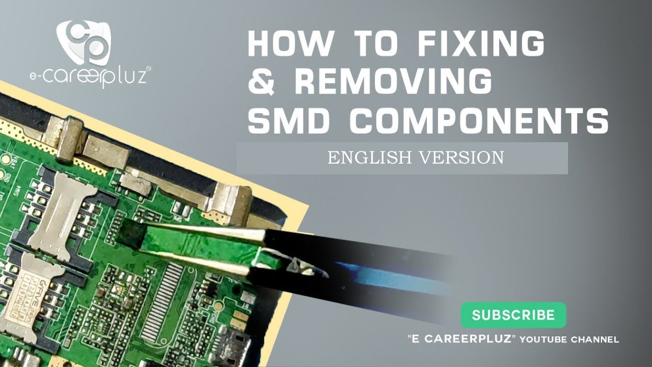 how to remove smd components