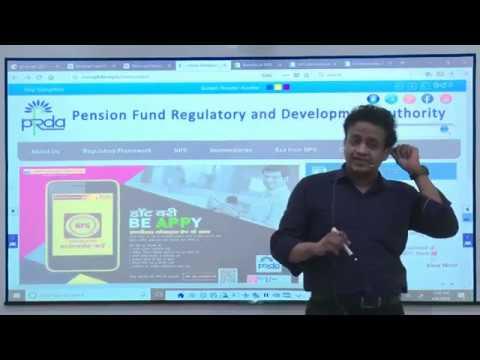 Pension Fund Regulatory & Development Authority Act (PFRDA 2013) Amendment June 2018 & Dec 2018.