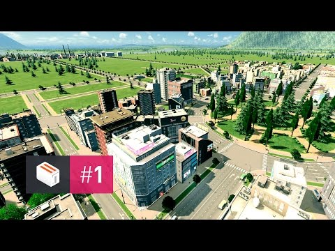 Let's Design Cities Skylines — EP 1 — Humble Beginnings