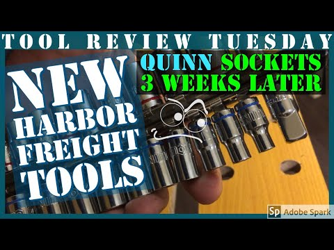Harbor Freights New Quinn Sockets || 3 Week Review