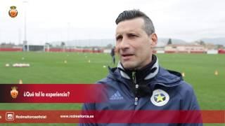 El entrenador del Etoile Carouge FC valora el stage en Mallorca