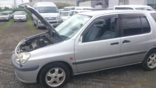 Видео-тест автомобиля Toyota Raum (серебро, 5E-FE, EXZ10-0090580)