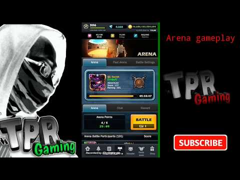 Monster warlord indonesia #arena gameplay - 동영상