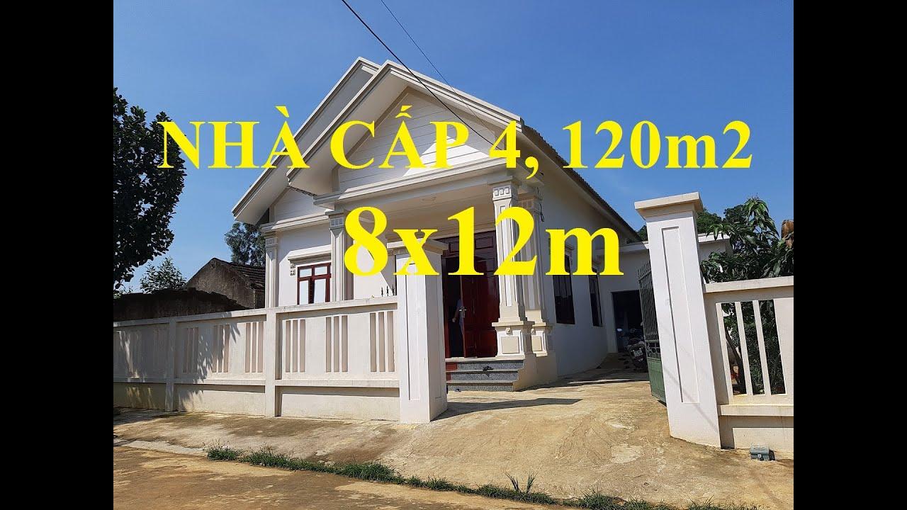 Nhà cấp 4 diện tích 120 m2 3 phòng ngủ ở nông thôn nhưng có phòng khách rộng mênh mông