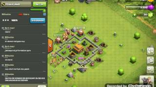 Aventure suivie épisode 1 { Clash of Clans }