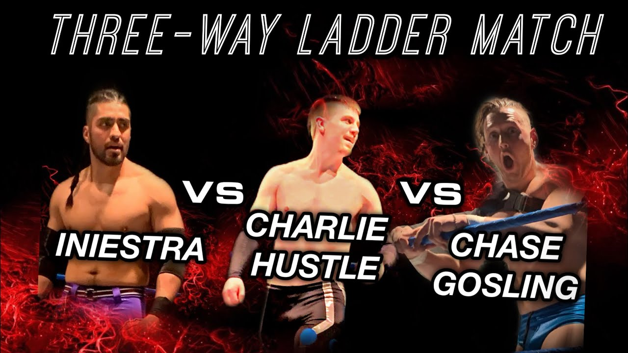 Chase Gosling shares his thoughts on his upcoming Three-way Ladder Match