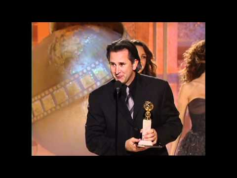 Anthony LaPaglia Wins Best Actor TV Series Drama  Golden Globes 2004
