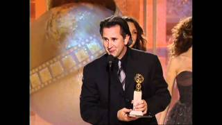 Anthony LaPaglia Wins Best Actor TV Series Drama - Golden Globes 2004