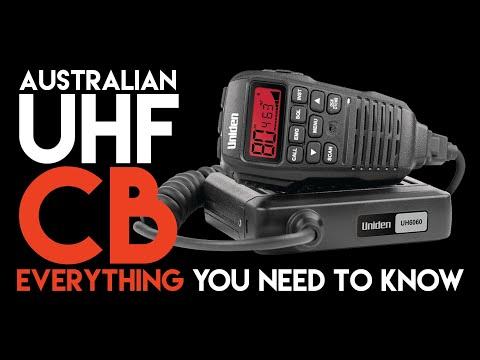 UHF CB Radio In Australia - Everything You Need To Know