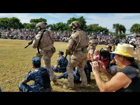 Navy SEAL Museum Muster 2018 Tactical Demonstration