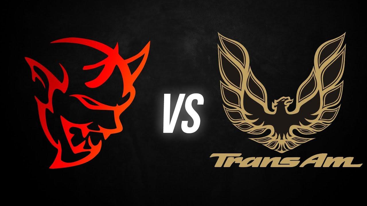 Dodge Demon vs Pontiac Trans Am (MODDED) DRAG RACE | Demonology