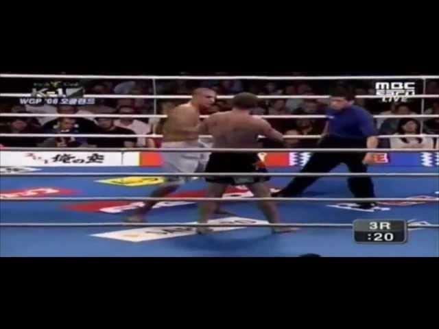 Badr Hari vs Peter Graham #1 - part 2