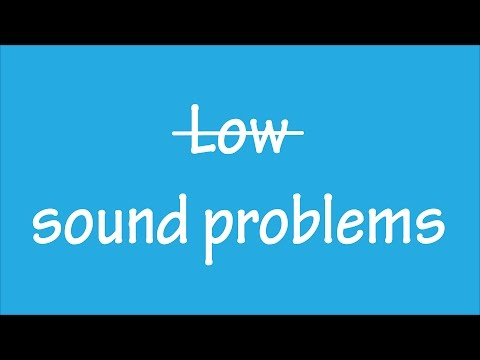 How to fix low sound problems on windows 10