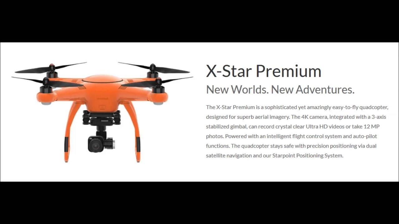 Autel Robotics X Star Premium Wifi Fpv With 4k Hd Camera Quadcopter