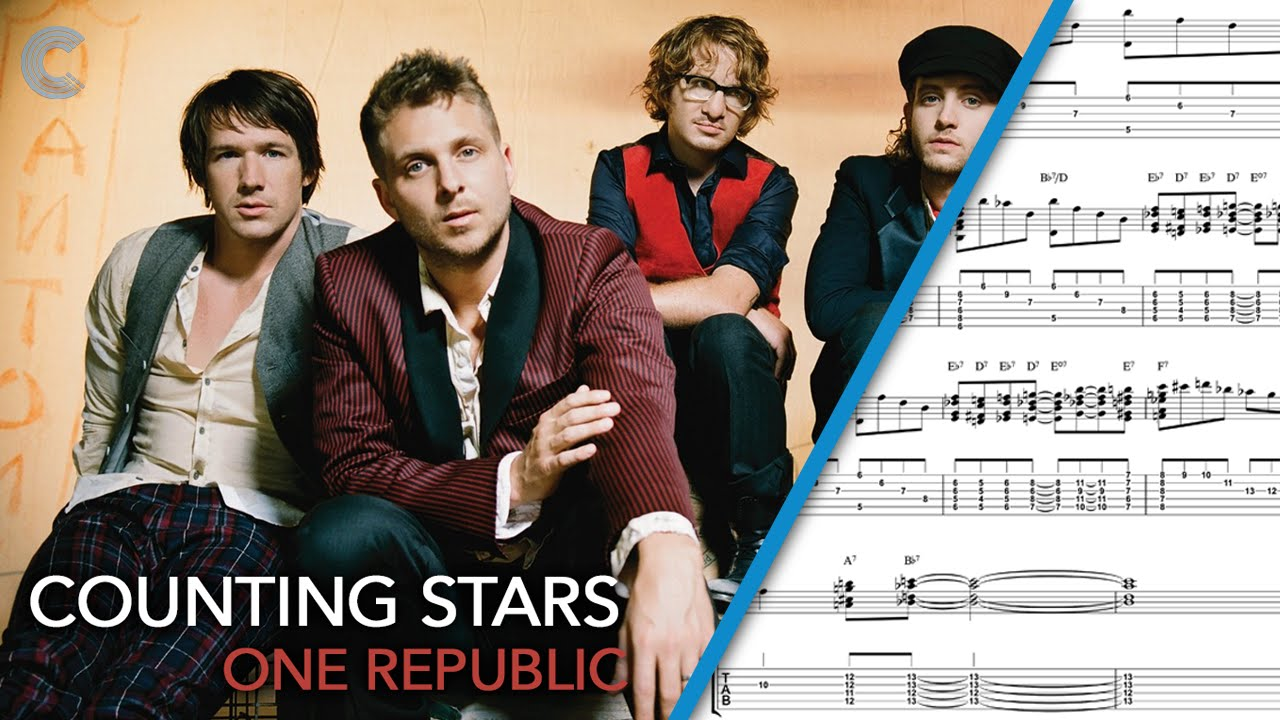Guitar Counting Stars Onerepublic Sheet Music Chords