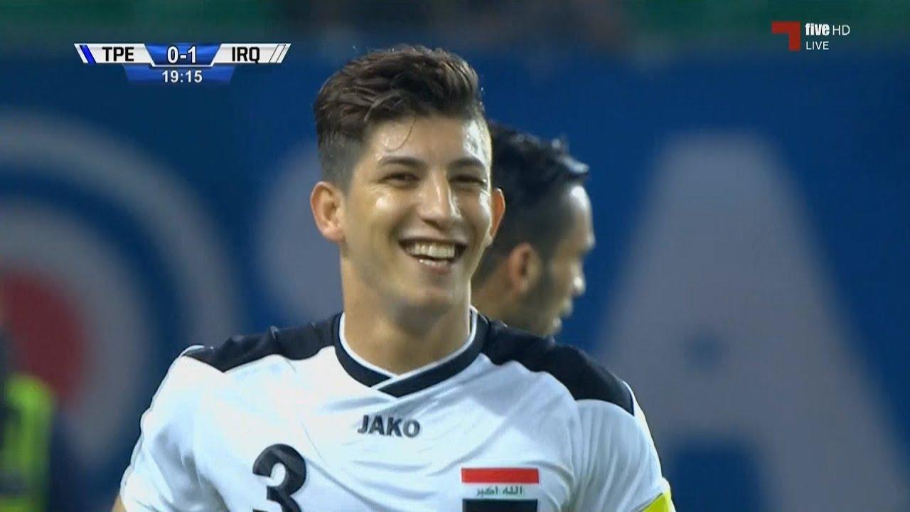 أهداف مباراة منتخب تايوان 0-2  منتخب العراق | تصفيات كاس العالم 2018 | Chinese Taipei 0-2 Iraq