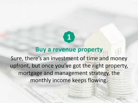 Calgary Mortgage Broker reveals 5 ways to generate passive income…