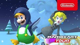 Mario Kart Tour - Ice Tour Trailer