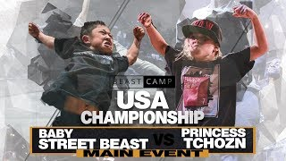 Baby Street Beast vs Princess Tchozn | The Beast Camp USA Championship