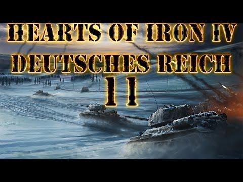 Hearts of Iron IV Deutsches Reich 11 Invasionsvorbereitung (Deutsch / Let's Play / Preview)