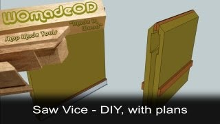 Saw Vice - Diy, Free Plans