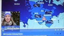 NDR Schleswig-Holstein Magazin 21.11.2015. Wetterprognose aus Lübeck
