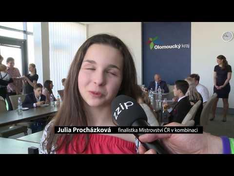 Olomoucký kraj ocenil tanečníky
