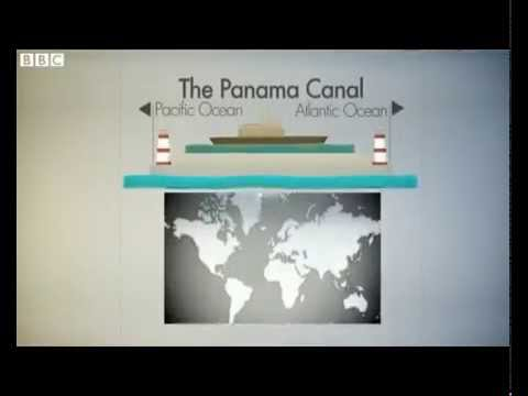 The Panama Canal has helped transform world trade