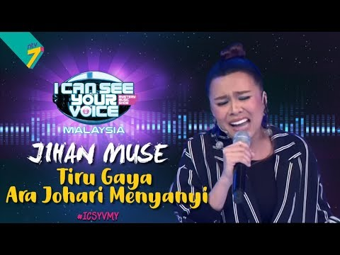 Jihan Muse Tiru Gaya Ara Johari  Menyanyi  | #ICSYVMY