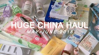 huge china haul | stationery, makeup, clothes
