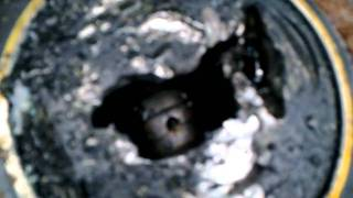 MB 190 hole in the piston