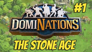 DomiNations Part 1 - The Stone Age (iOS/Android))