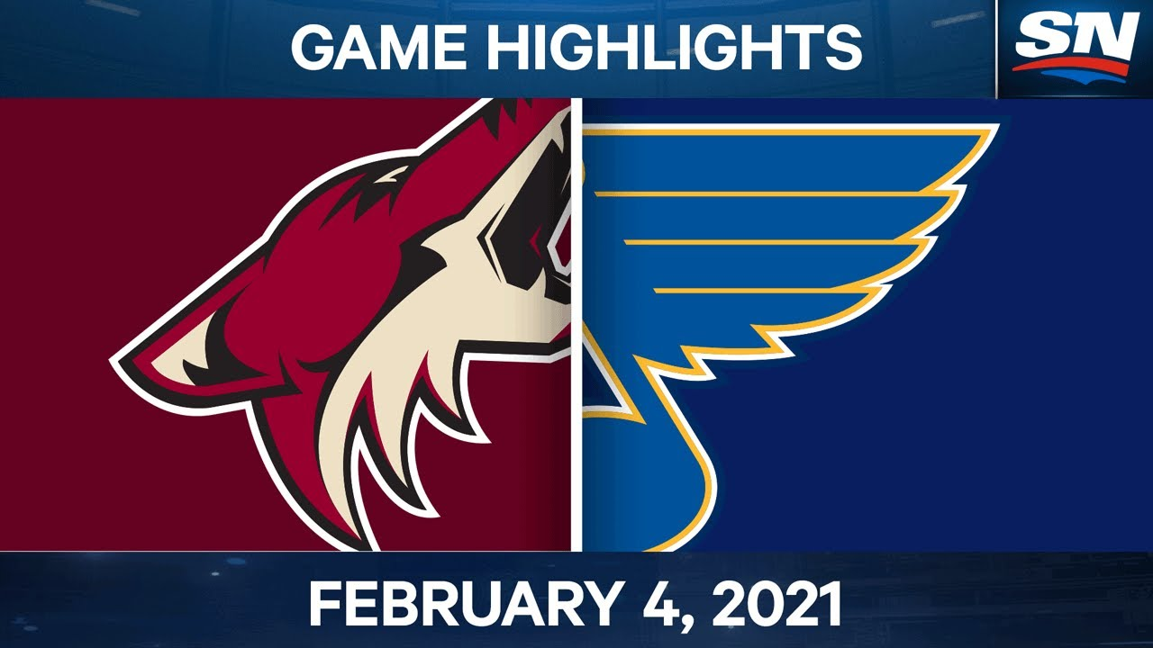 NHL Game Highlights | Coyotes vs. Blues - Feb 4, 2021 - SPORTSNET