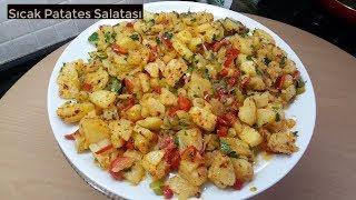 Sıcak Patates Salatası Tarifi - Naciye Kesici - Yemek Tarifleri